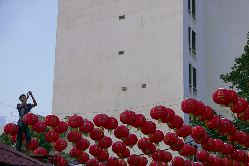 Preparations for the Chinese New Year, Georgetown, Penang (photo by Irina Stelea)