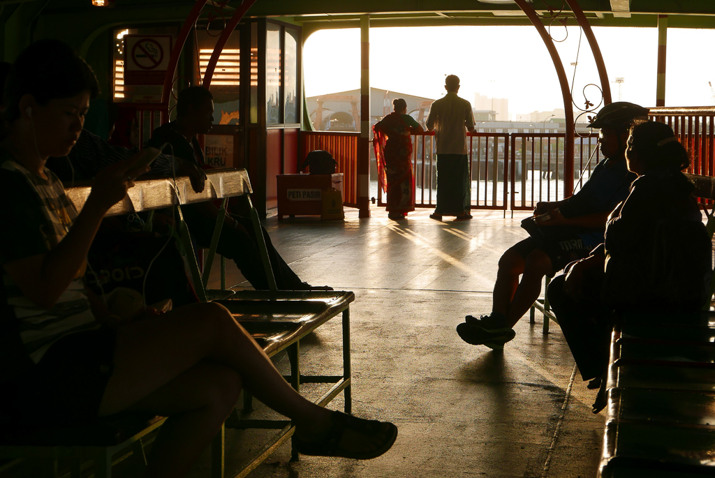 Ferry to Butterworth, Penang (photo by Irina Stelea)