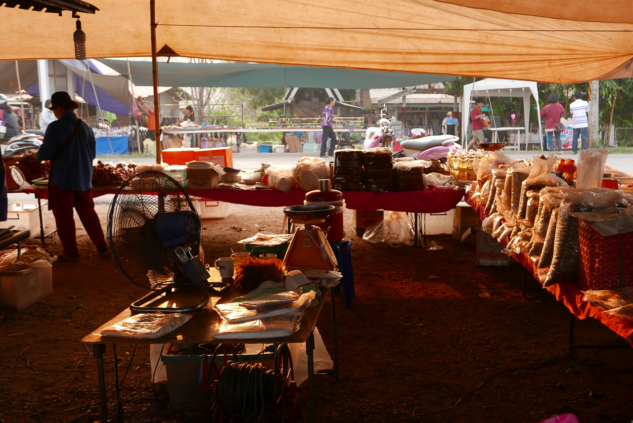 Chiang Dao morning market